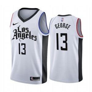 Los Angeles Clippers Paul George White Jersey